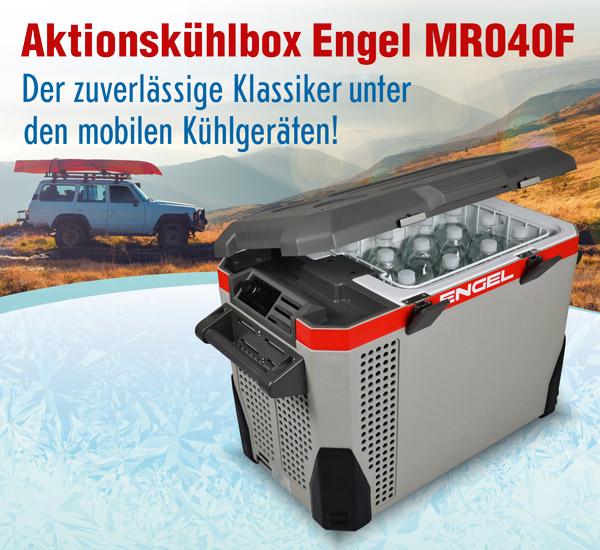 Aktionskühlbox Engel MR040F