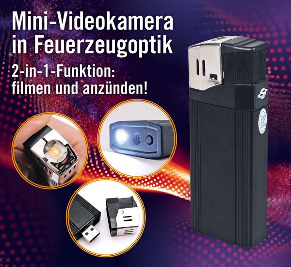 USB-Feuerzeug-Kamera - Full HD