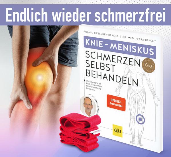 Knie - Meniskus - Schmerzen selbst behandeln