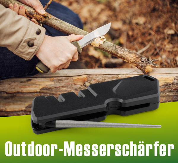 Outdoor-Messerschärfer