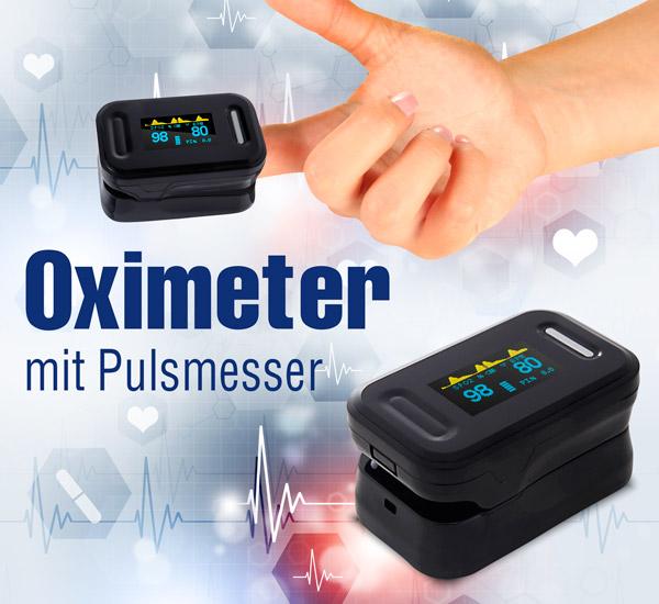 Puls-Oximeter - schwarz