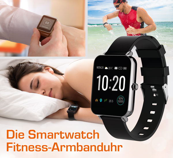 Smartwatch Fitness-Armbanduhr