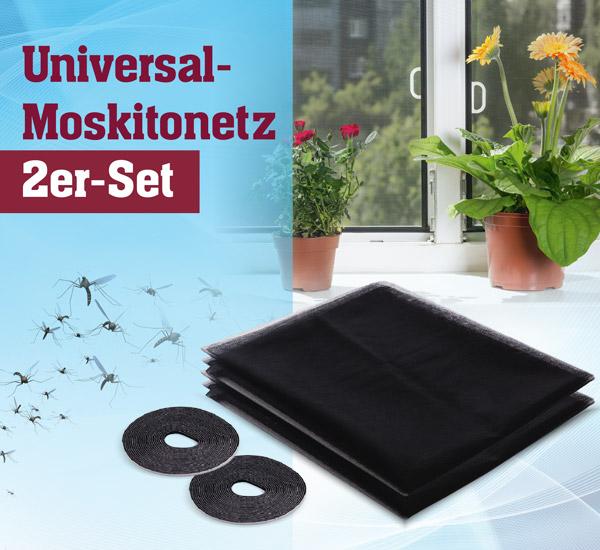 Universal-Moskitonetz 2er-Set